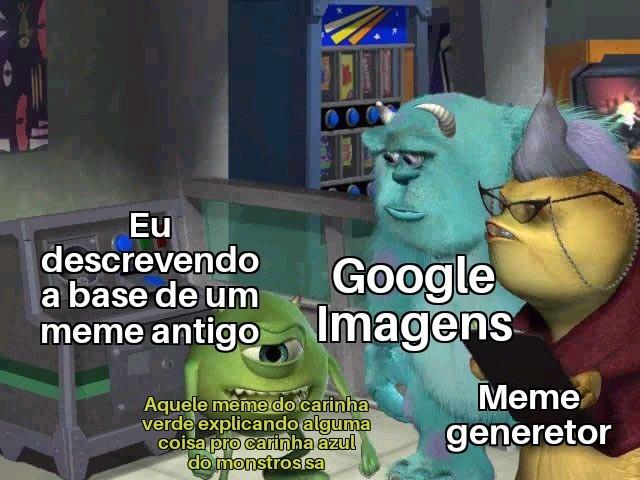 Não sei o nome do meme