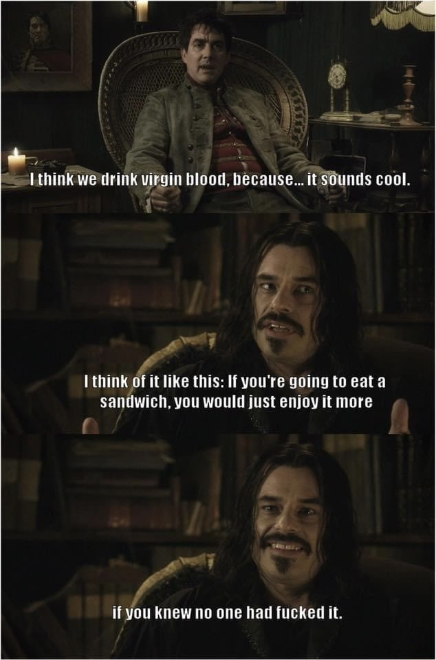 What we do in the shadows - meme