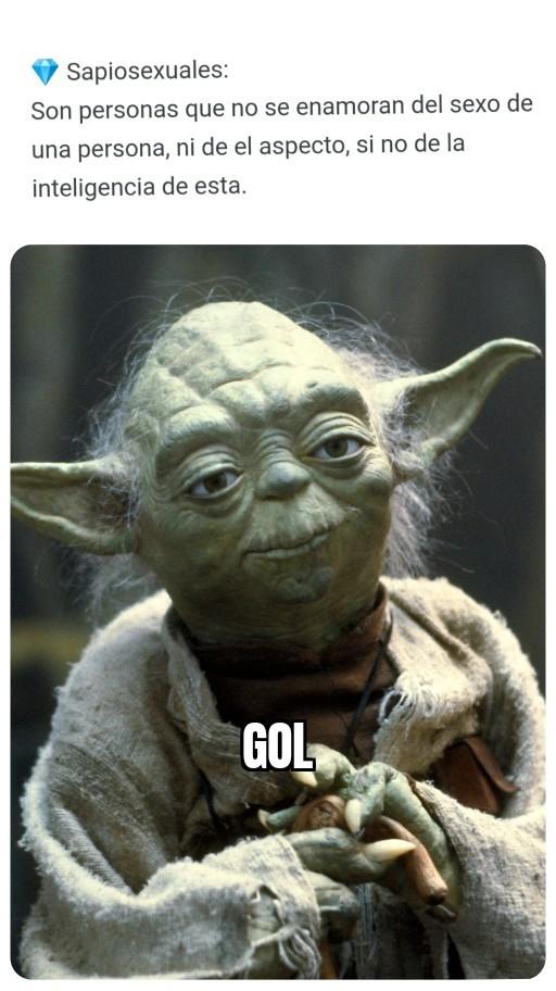 Yoda hoy la pone - meme