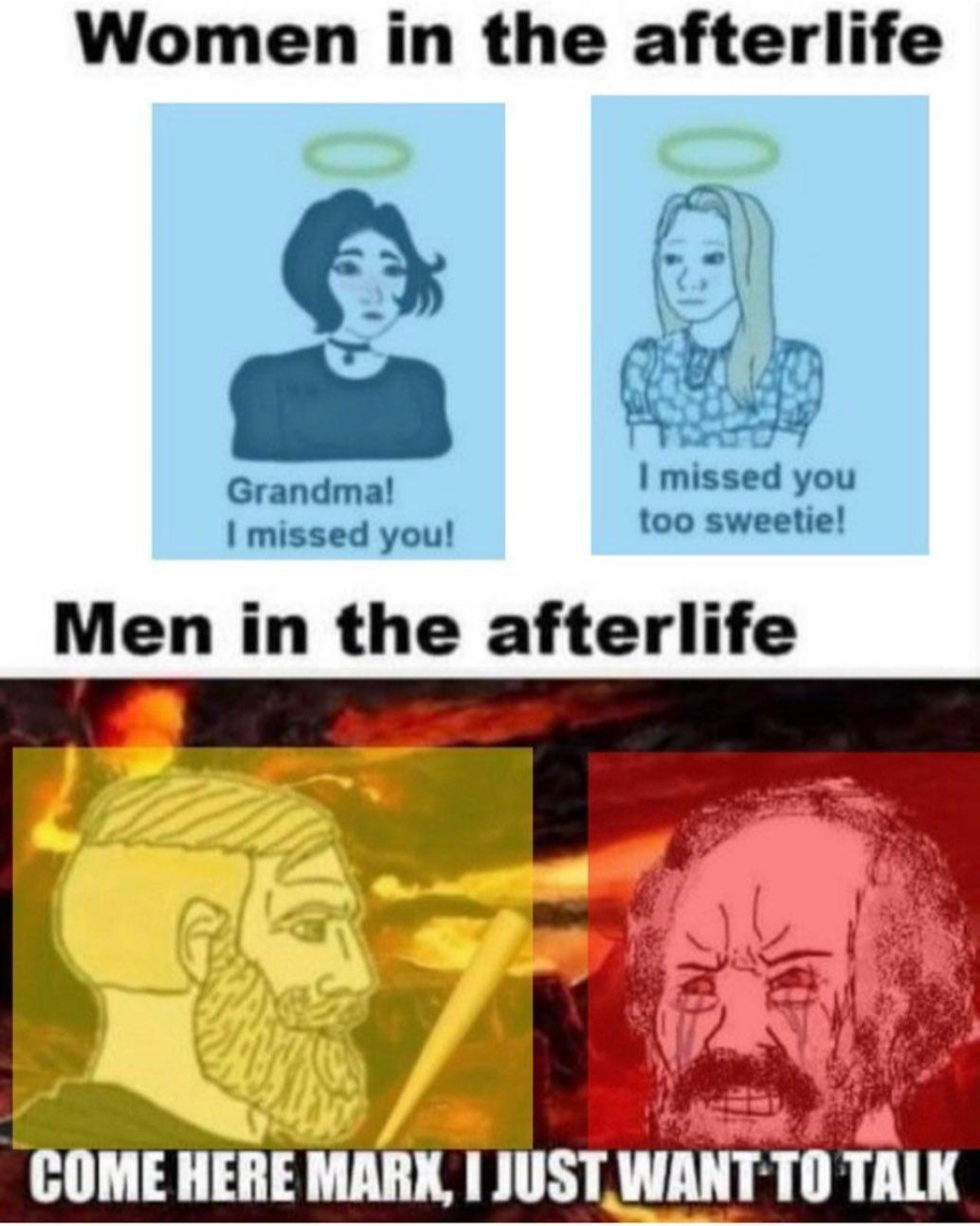 afterlife - meme
