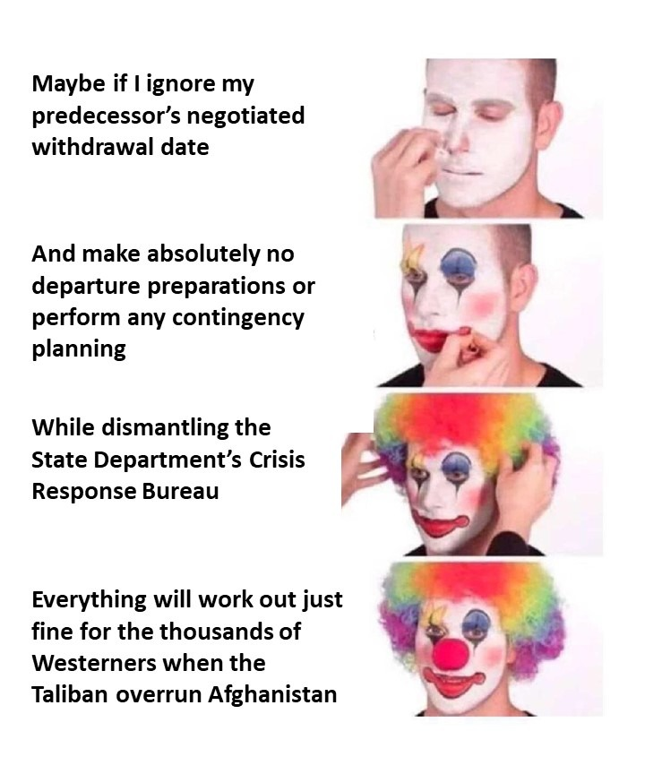Clownworld in the Third World - meme