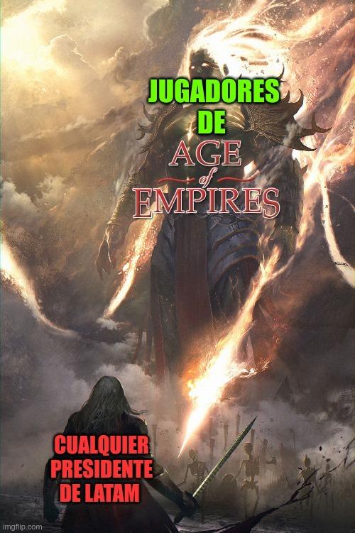 LPM los persas están rotisimos me mandaron como 30 elefantes y se cojieron a mi civilización - meme