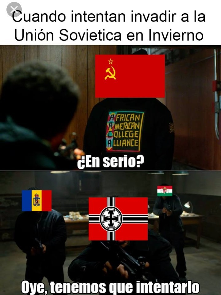 Union sovietica invierno - meme