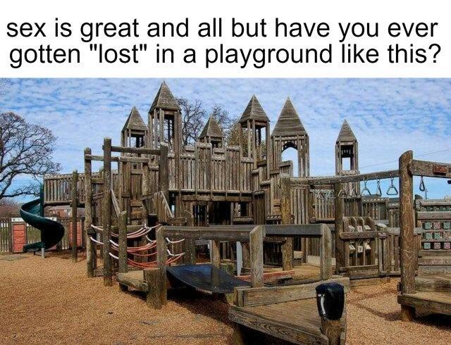 Awesome playground - meme