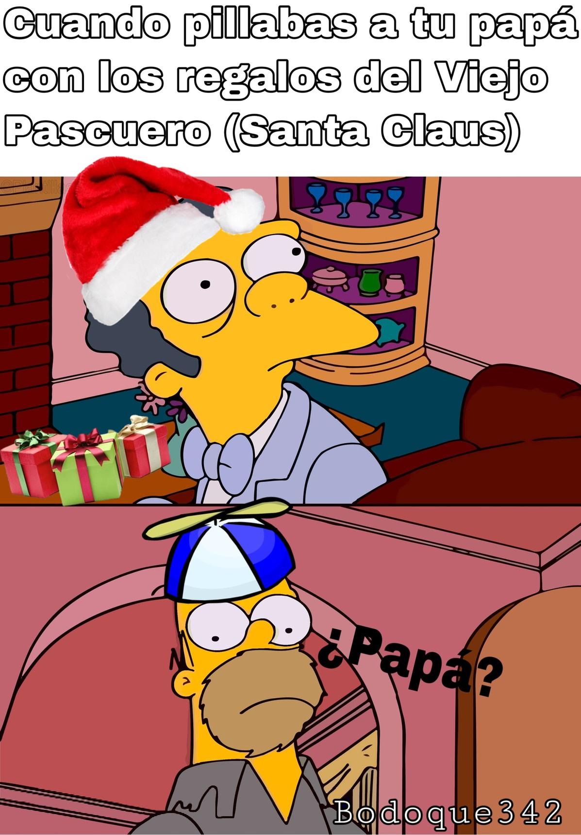 ¿papá? :( - meme