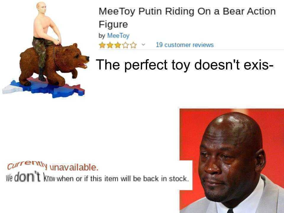 The perfect toy doesn't exis- - meme