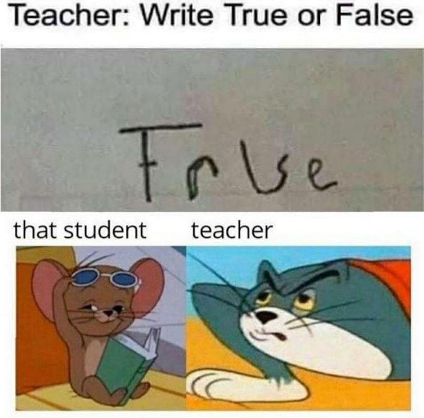 student - meme
