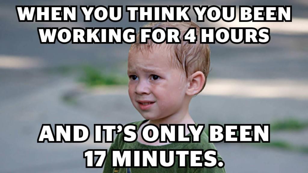 Peak hours butt in minutes - meme