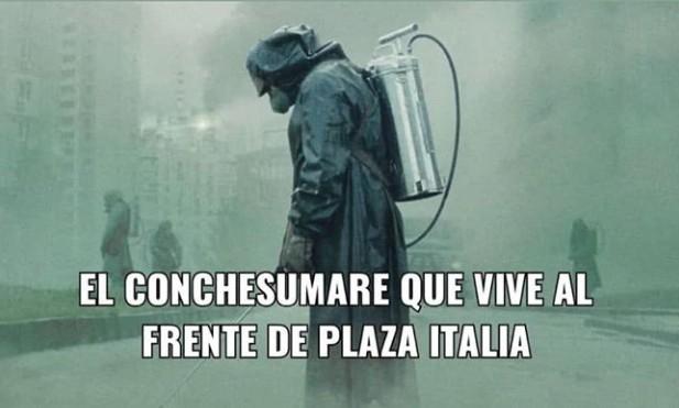 Chilernobyl - meme