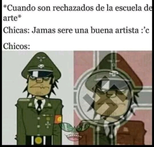 Murdoc Nazi Outfit - meme