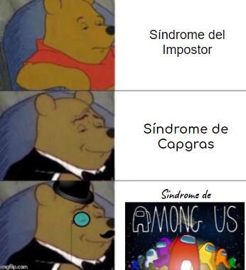 Síndrome de Capgras - meme