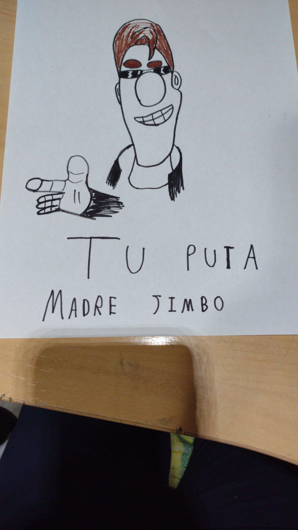 Tuputa madre jimbo - meme