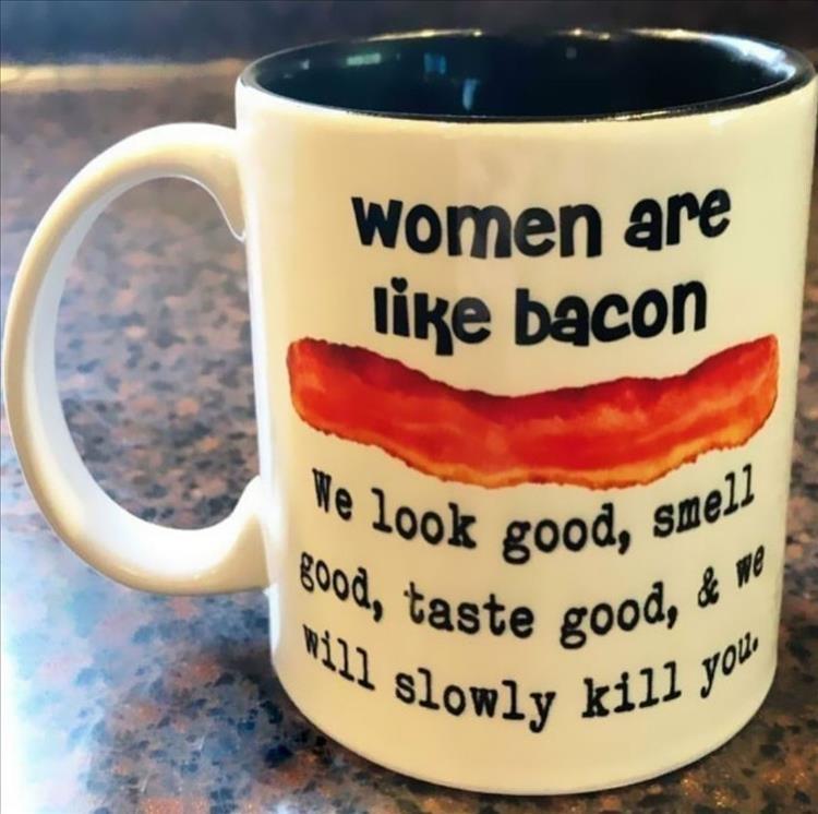 we are like bacon - meme