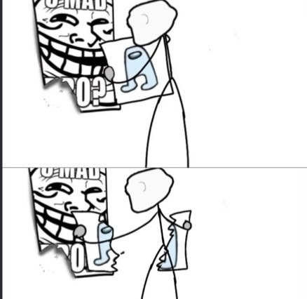Amogus'nt - meme
