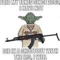 Yoda, don't do it!