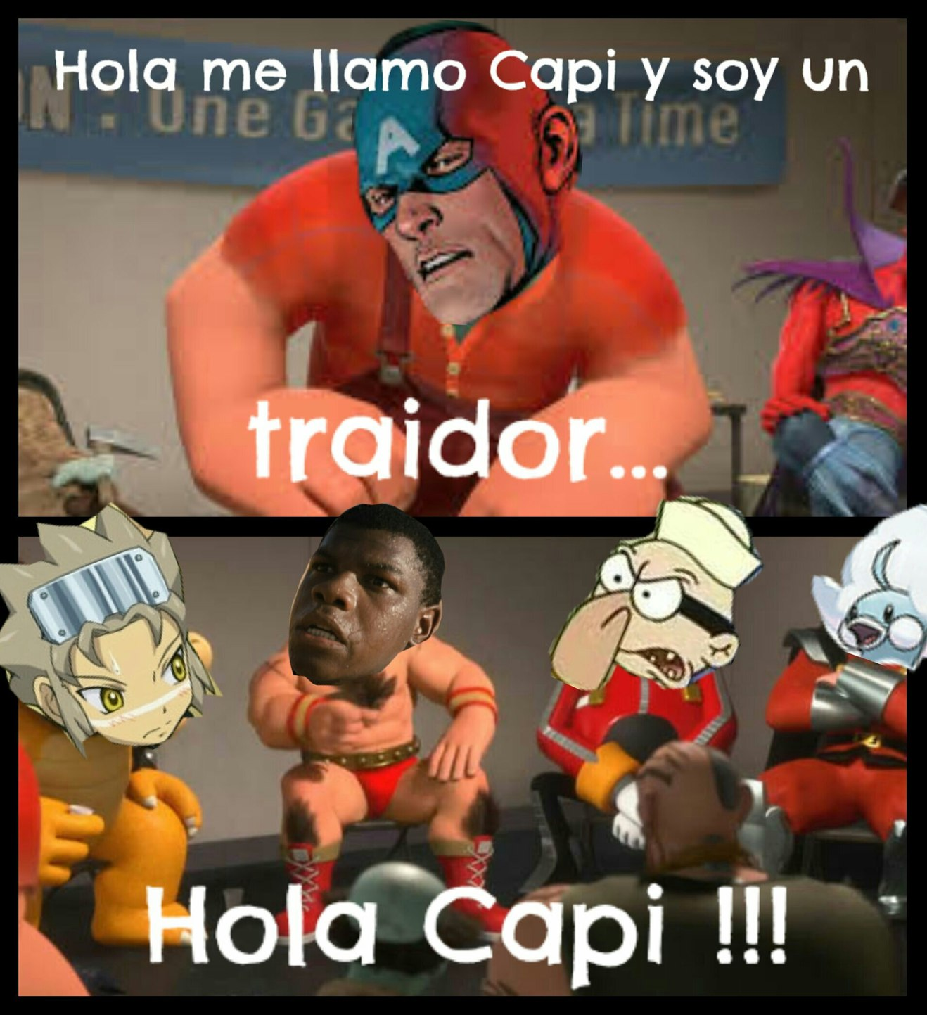Traidor !!! - meme