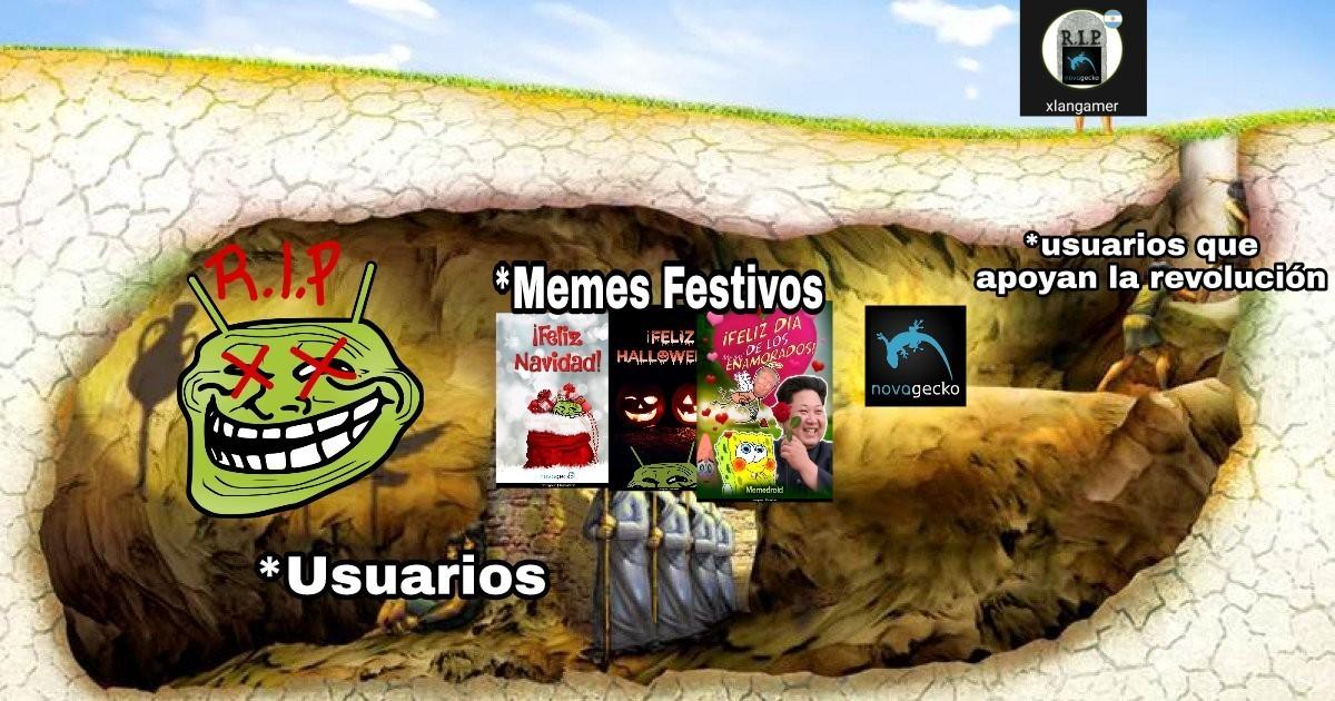 Salganos de la caverna - meme