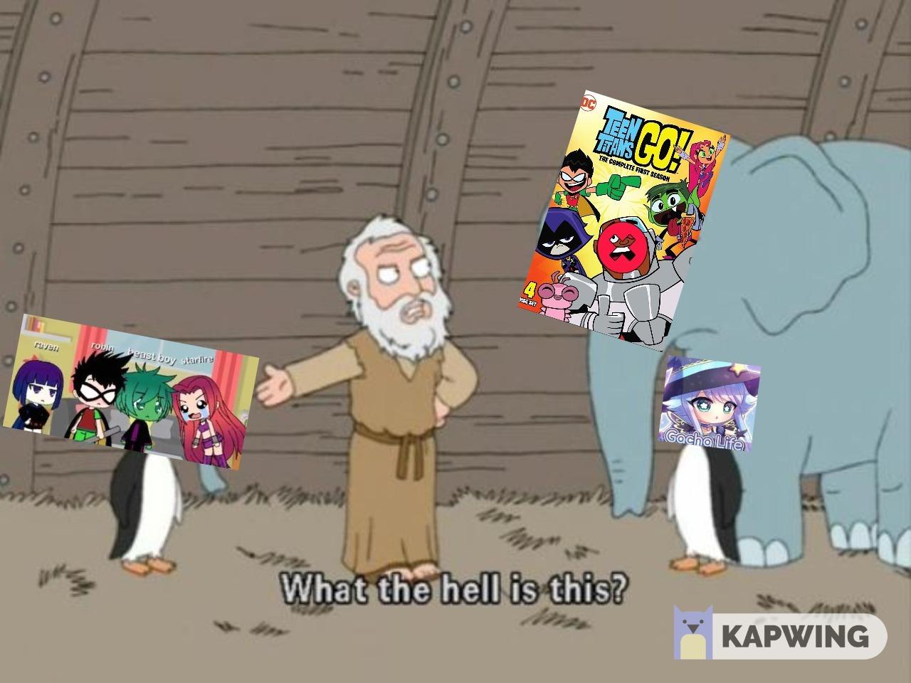 Yo los dejaba fures del arca - meme