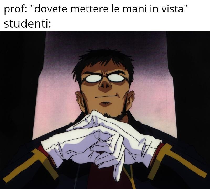 Nessun problema prof - meme