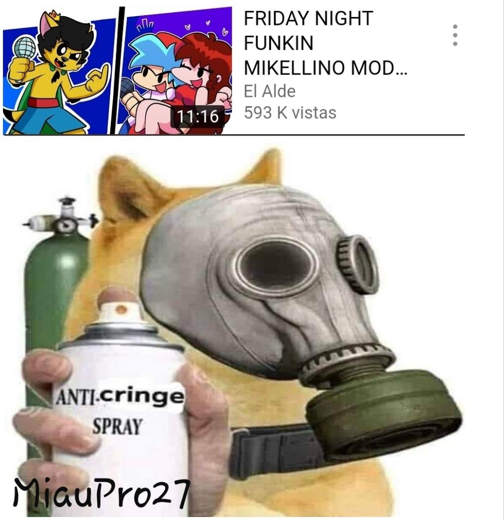 Necesito un spray anti-cringe - meme