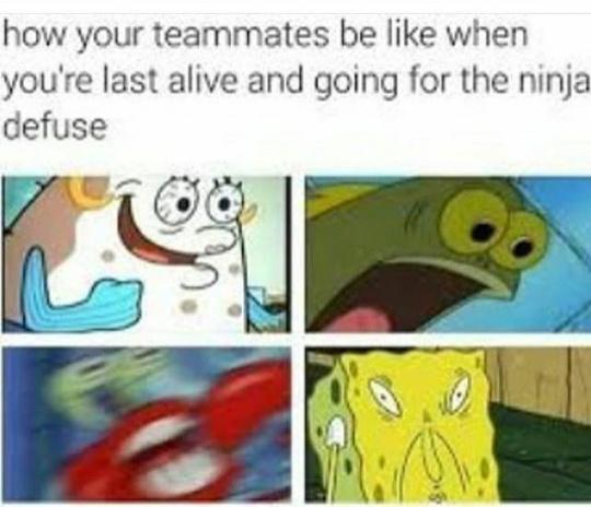 The squad & me - meme