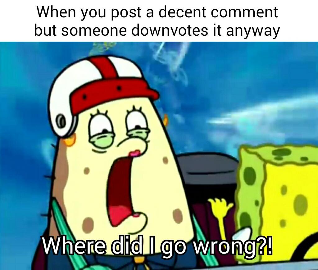 Decent comment - meme