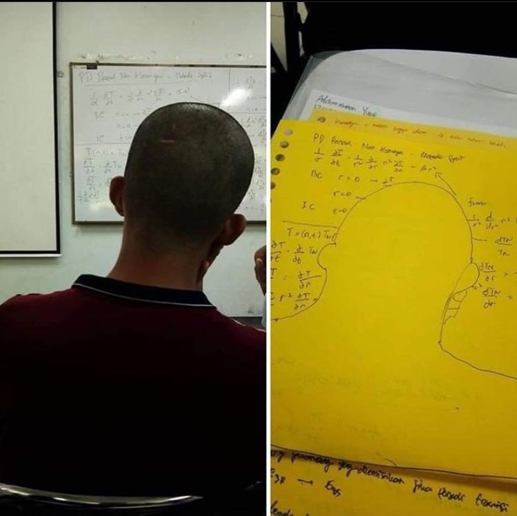 aquele cara estudioso q senta no fundão - meme