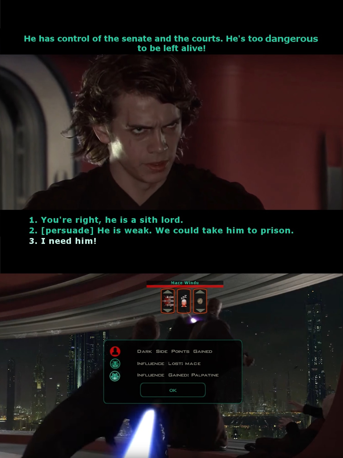 kotor based text - meme