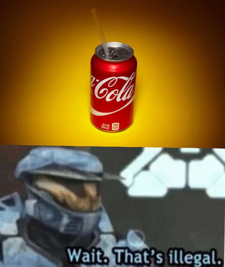 Soda and Straw - meme