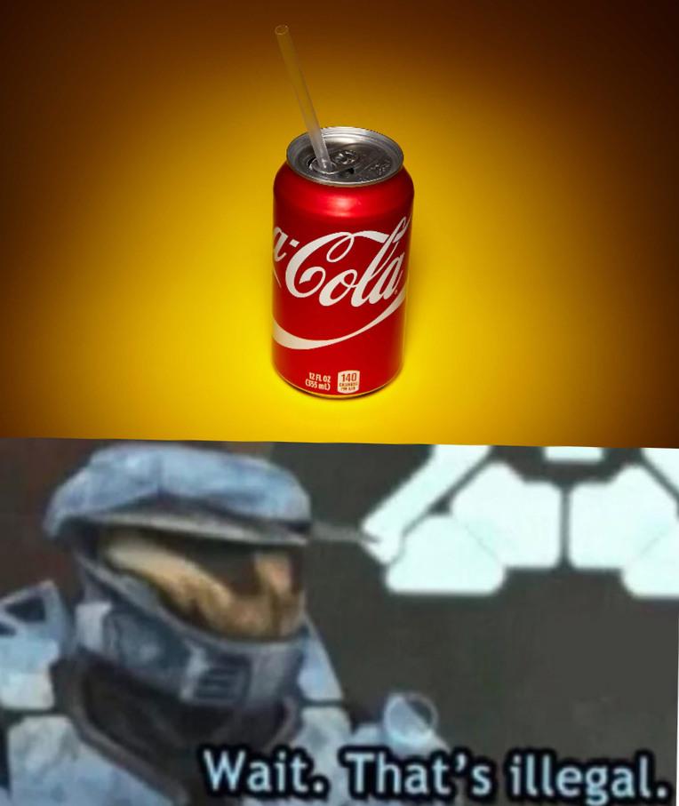 Soda and Straw - meme