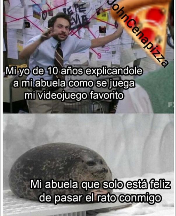 Que kawaii la foca UwU - meme