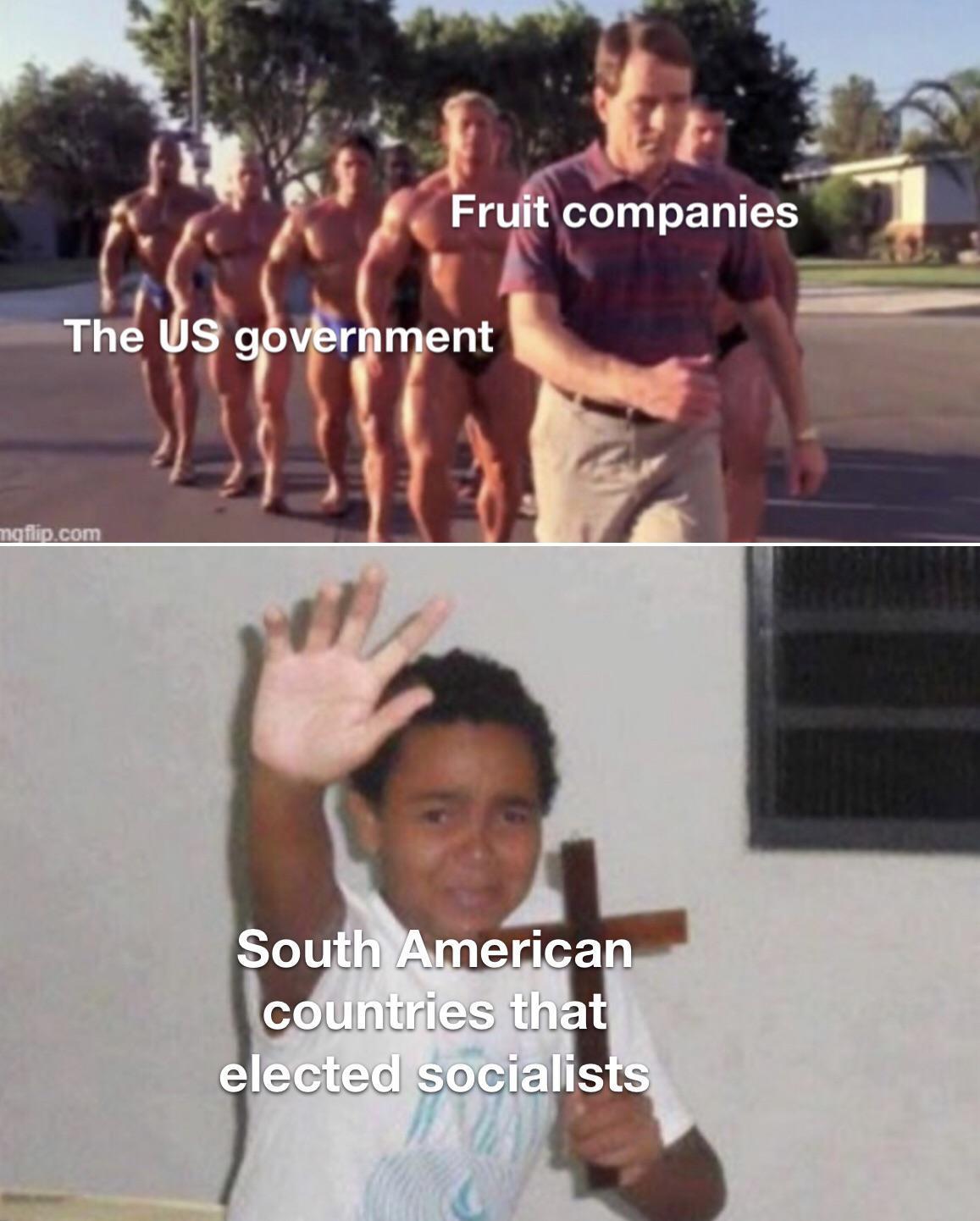 United Fruit Company vs Guatemala - meme