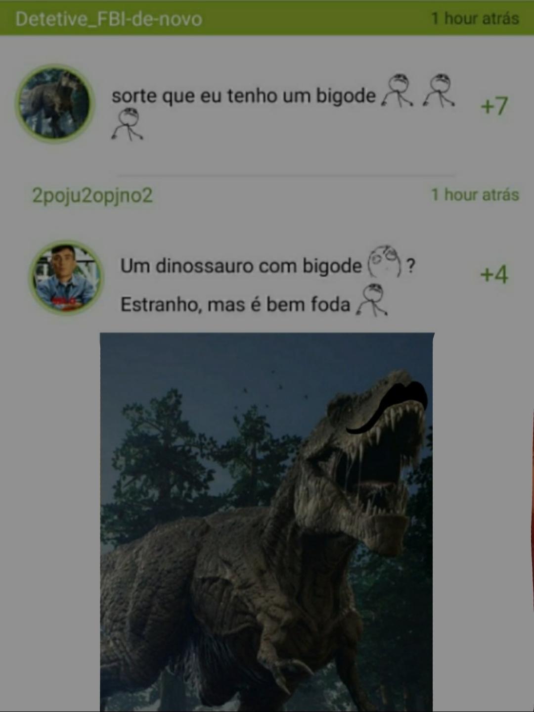 Dinossauro italiano - meme