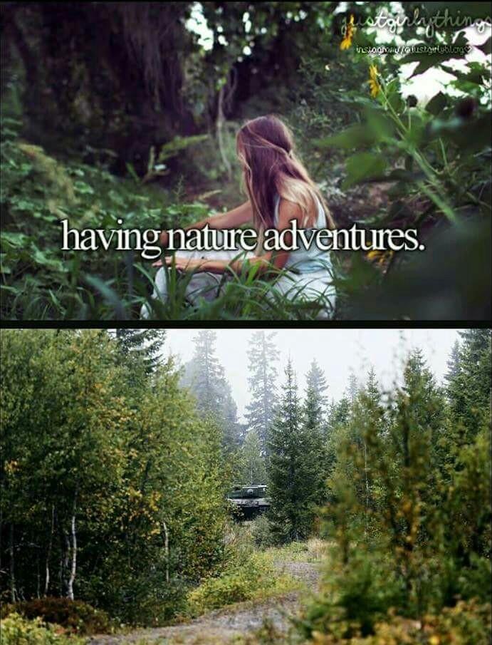 Se aventurando na natureza - meme