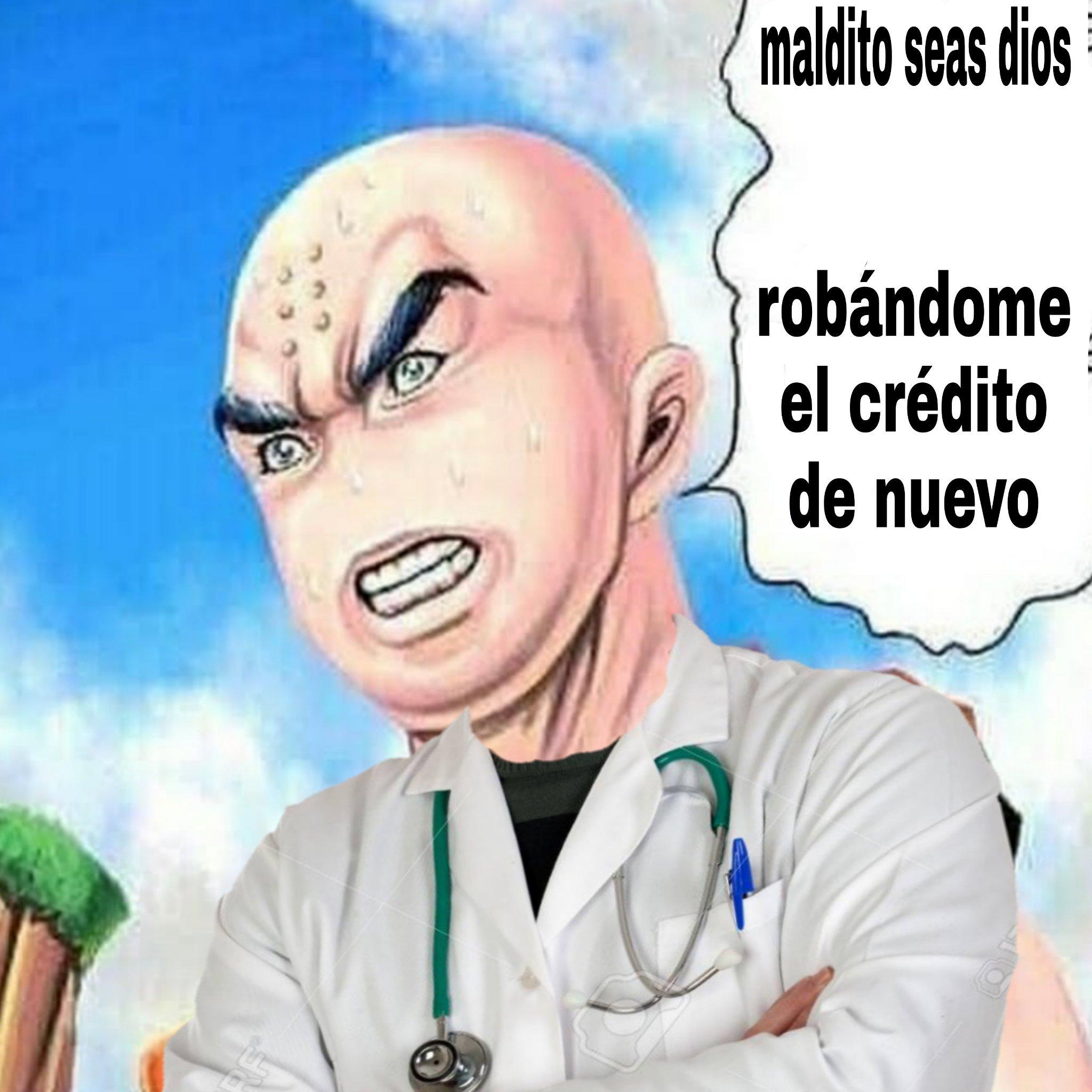 Soy cristiano pero escuche que cuando un doctor le dejo a una señora wue su hijo estaría bien dijo gracias a dios XD - meme
