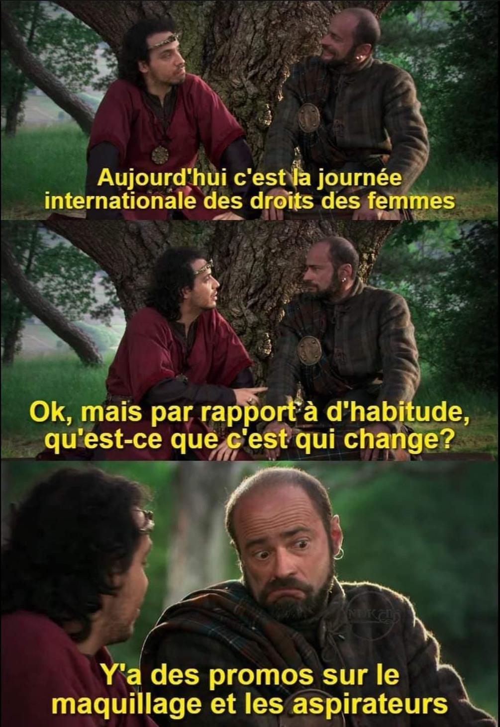 Journée internationale de la kouizine - meme