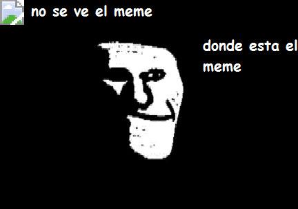 no se ve el meme