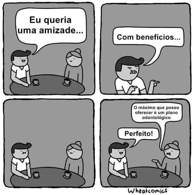Benefícios - meme