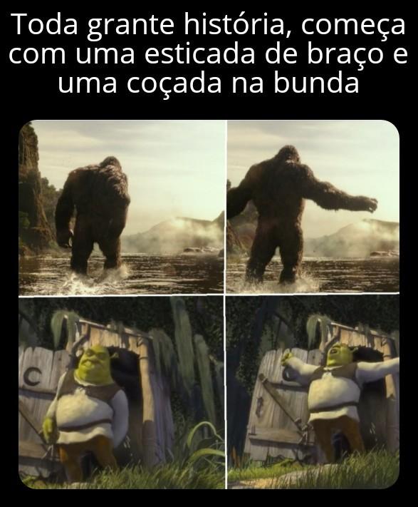 Shrek kong - patotinhadosmemes