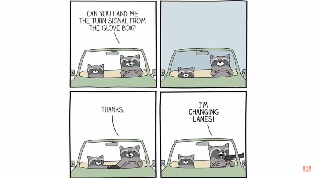 turn signal - meme