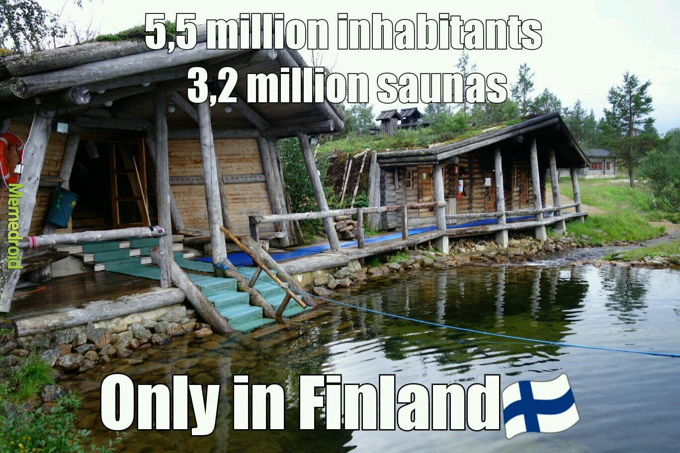 Saunas everywhere <3 - meme