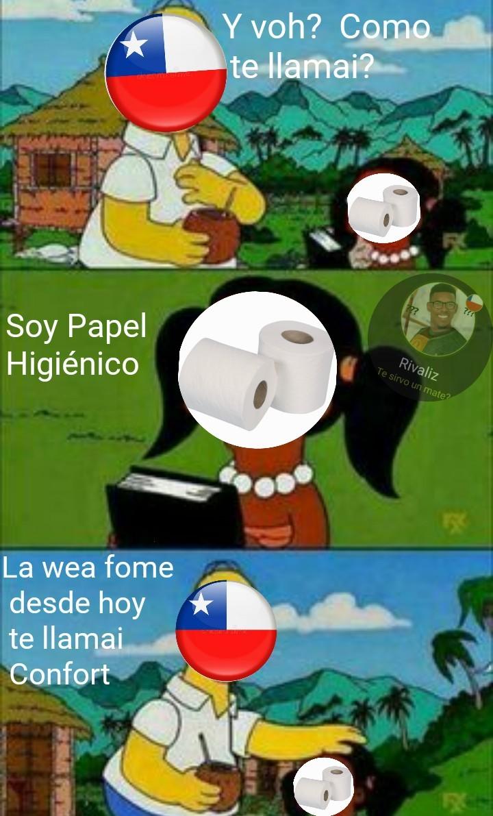 Es de chilenos - meme