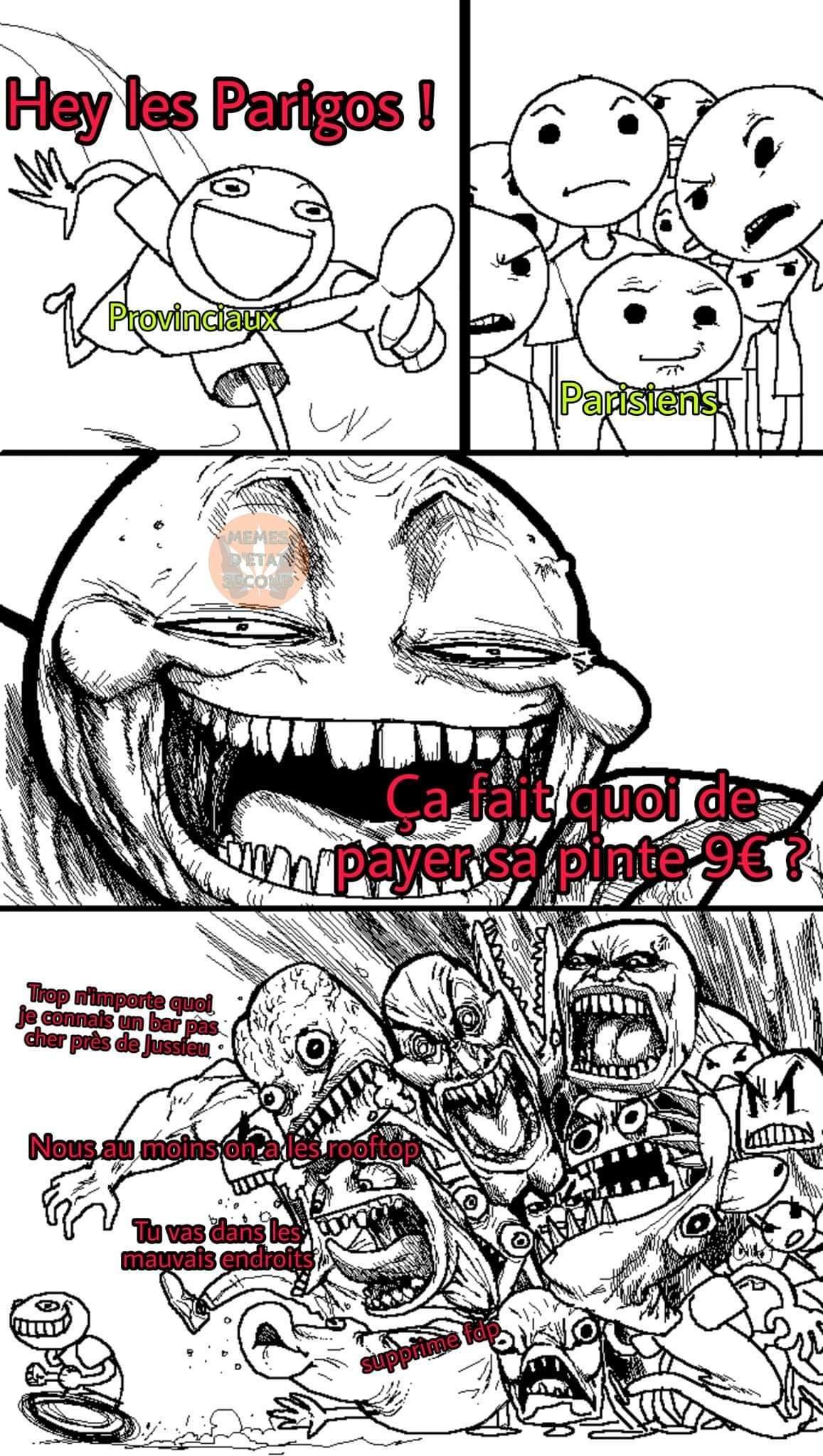 Clash imminent - meme