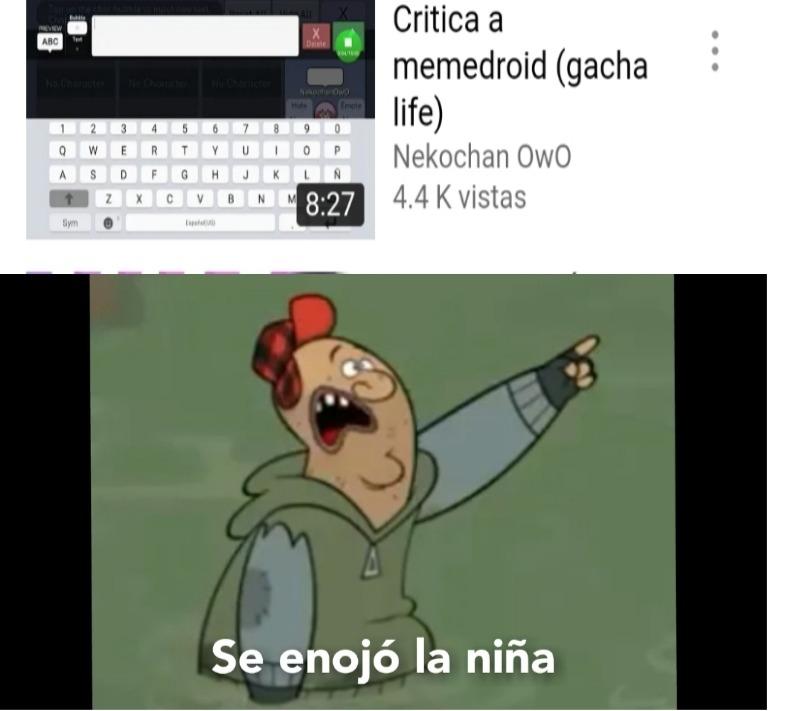 Mi tercer meme de Gachatubers