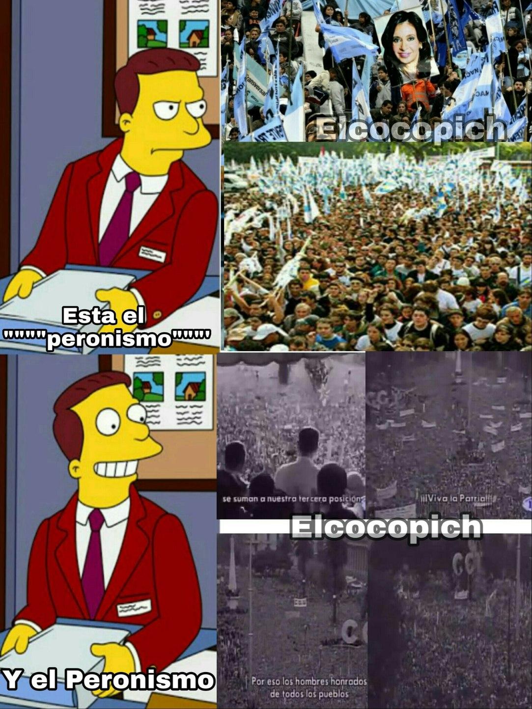 Millones de personas querían el verdadero peronismo - meme