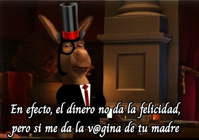 Burro Burgués - meme