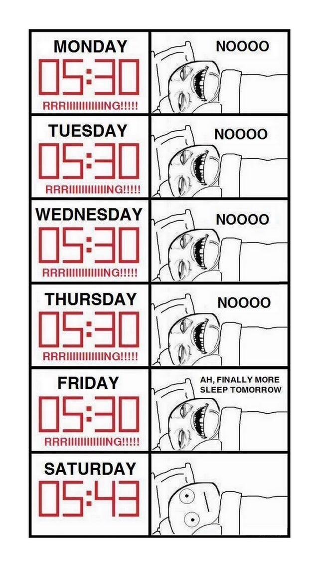 L'insomnie du week end :FFUUUU: - meme