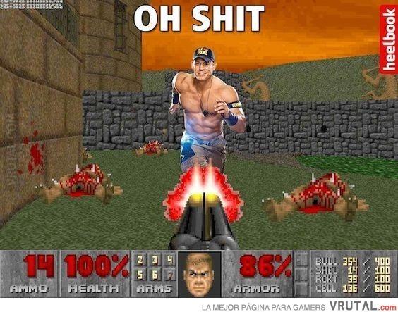 Si Ion Sina fuera un boss del Doom - meme