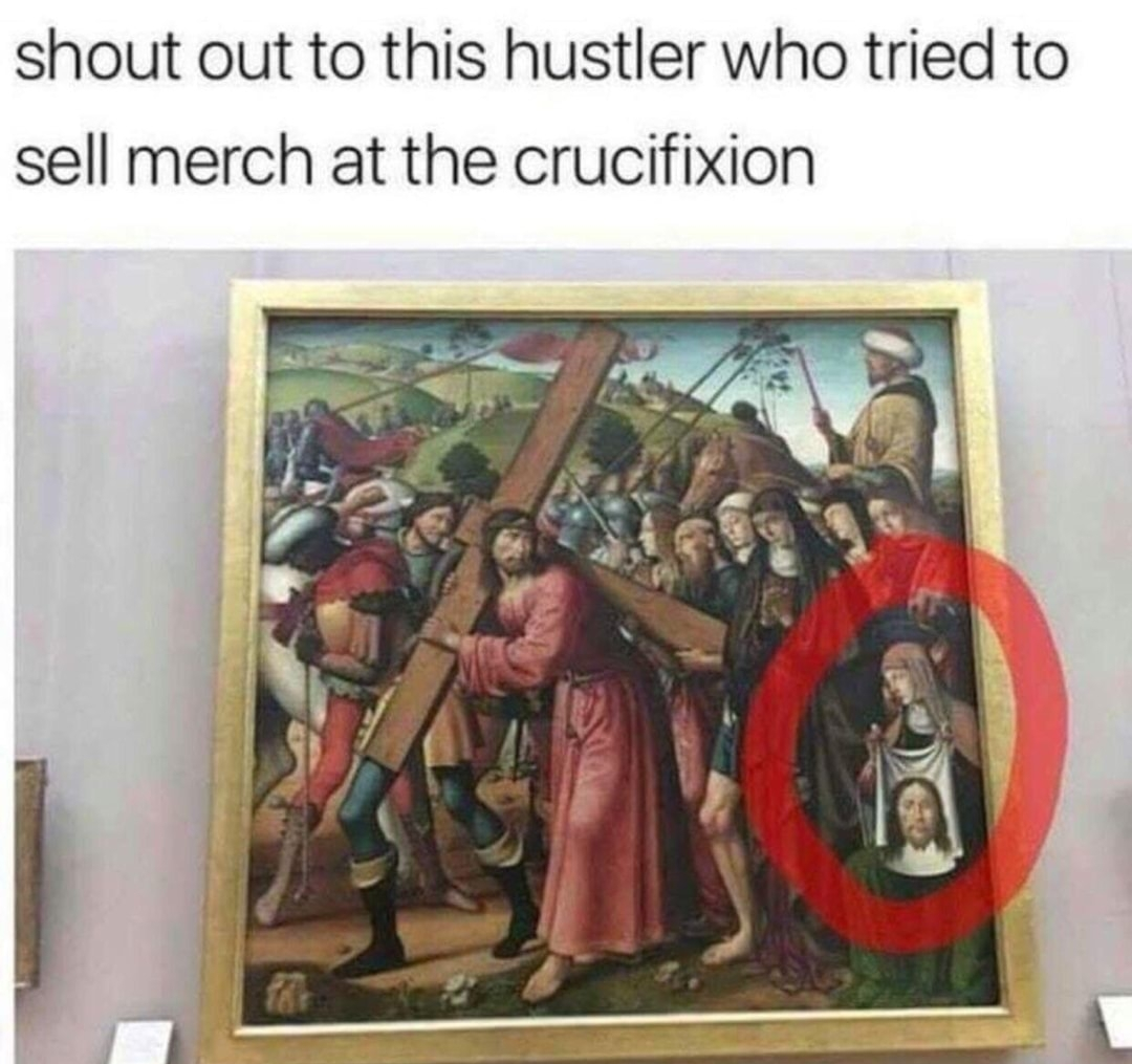Sell it in rhe name of Jesus - meme