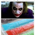How the Joker got his scars